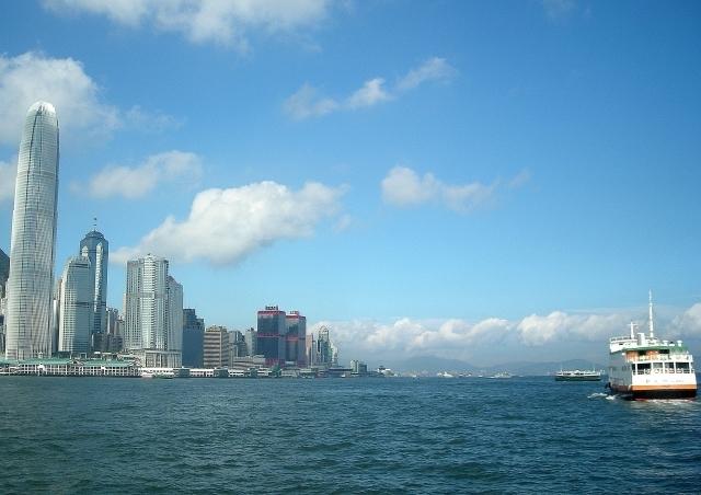 香港ビクトリア湾